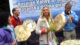 Flute music -French group at Bosnian Pyramids-Tunnels Ravne