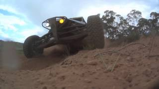 Manunm Offroad race Sony cam getting hammered