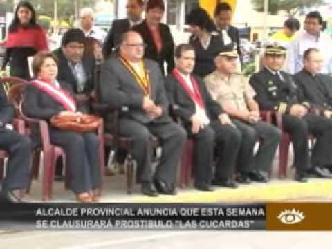 Alcalde Arroyo aseguró que prostibulo las cucardas será cerrado esta semna