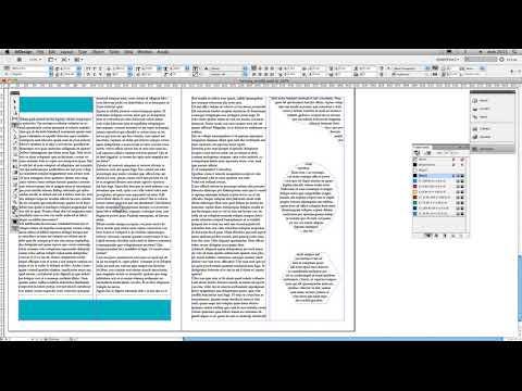 InDesign - Conectar marcos de texto - connect textframes