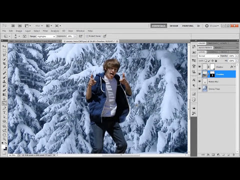 How to Remove a Background, Then Add Another - Photoshop CS5