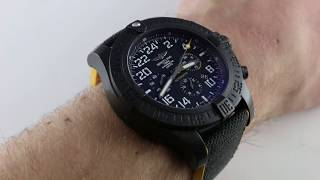 Pre-Owned Breitling Breitlight Avenger Hurricane XB1210E4/BE89 Luxury Watch Review