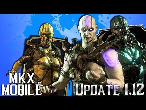 Обновление 1.12 • НОВЫЕ ПЕРСОНАЖИ В Mortal Kombat X Mobile 😍