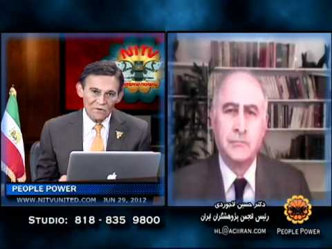 People Power June 29, 2012 Dr Hossein Ladjevardi