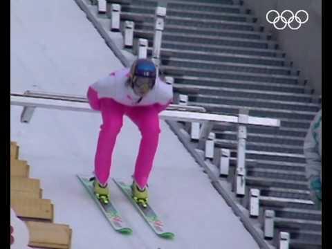 T. Nieminen Wins Ski Jumping Gold - K120 Individual (90M) | Albertville 1992 Winter Olympics
