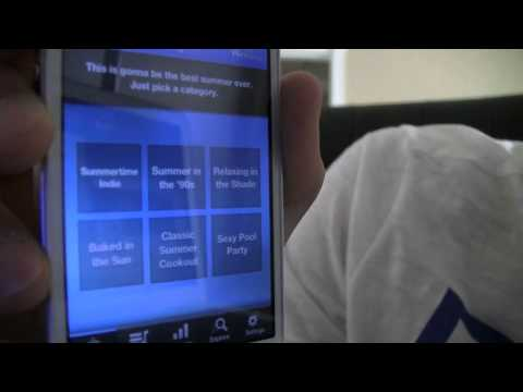 Songza iPhone App Review