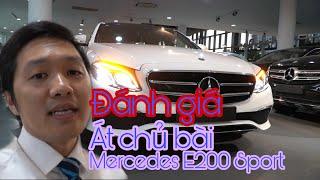 Mercedes E200 sport con át chủ bài của Mercedes-Benz Việt Nam năm 2019