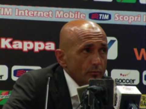 1^a Parte Luciano Spalletti dopo Roma-Juve 30/08/2009
