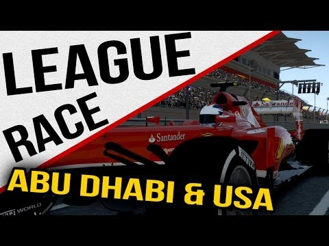 F1 2013 - AOR League Races - Abu Dhabi & USA