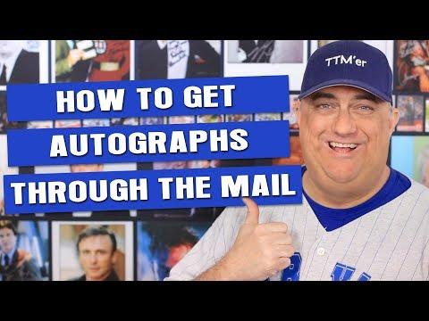 How To Get Autographs Through The Mail (TTM)