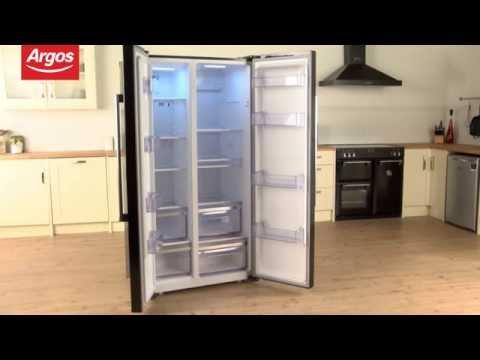 Bush BSBSFFB American Frost Free Fridge Freezer In Black Review