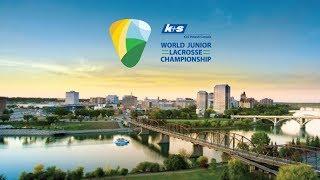 World Junior Lacrosse Championship : Iroquois v Canada