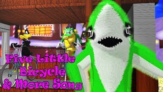 Five Little Bicycle & More Song