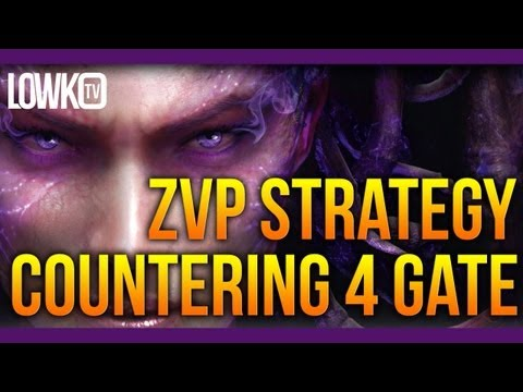 How to Scout and Counter a 4 Gate - Zerg versus Protoss Strategy - StarCraft II Study
