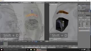 Blender 3D - Modelando rosto a partir de uma Caricatura