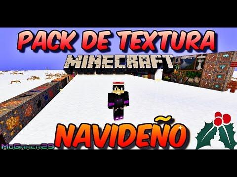 ¡¡¡PACK DE TEXTURAS NAVIDEÑO!!! - Minecraft 2014.2015   McGamer29 HD