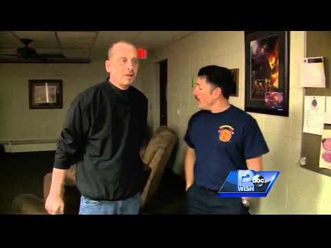 Man thanks firefighters that shoveled his driveway