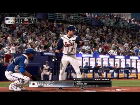 MLB 15 THE SHOW PS4 2016 WORLD BASEBALL CLASSIC --GROUP B-- #4 JAPAN  5    #20 NICARAGUA 2