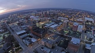 Downtown Terre Haute, IN with DJI Phantom 2 Vision Plus v3 0