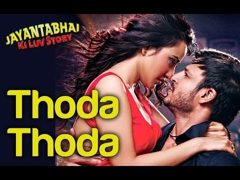 Thoda Thoda - Official Song Video from Jayantabhai Ki Luv Story by Shreya Ghoshal & Sachin