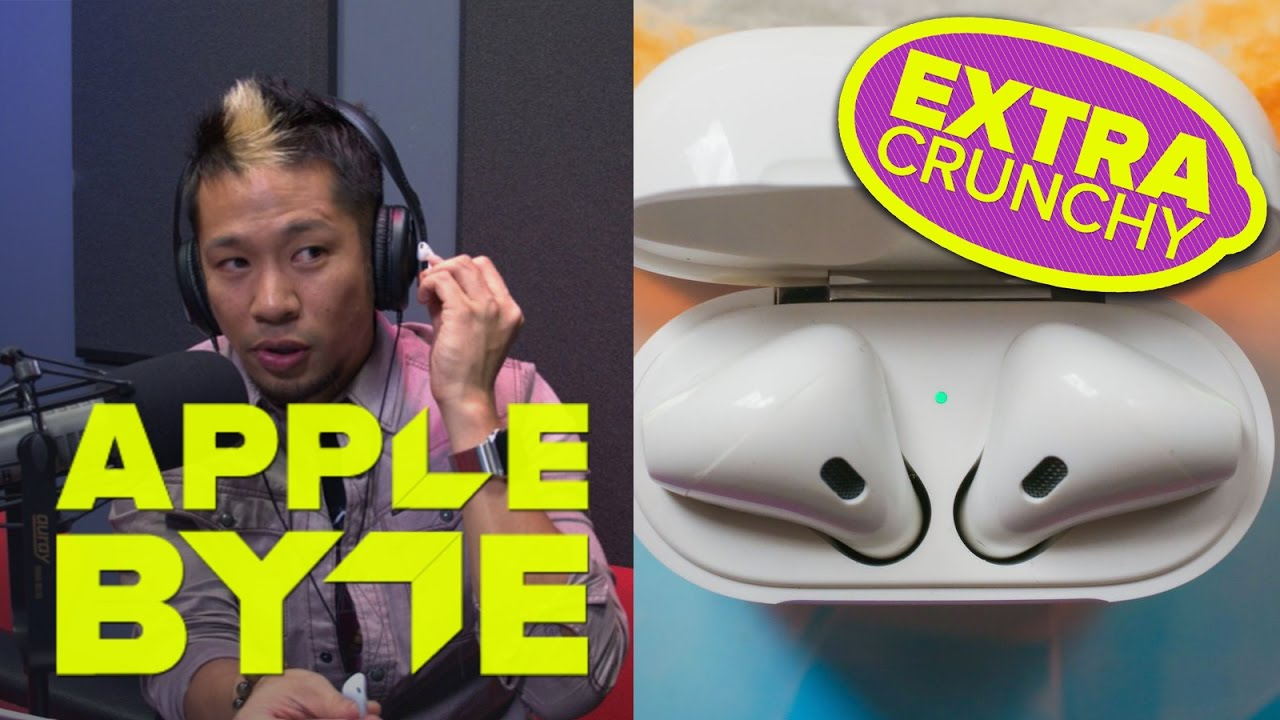 In-depth review of Apple's AirPods. Plus, foldable iPhone in 2018?  (AB Extra Crunchy Ep 67)