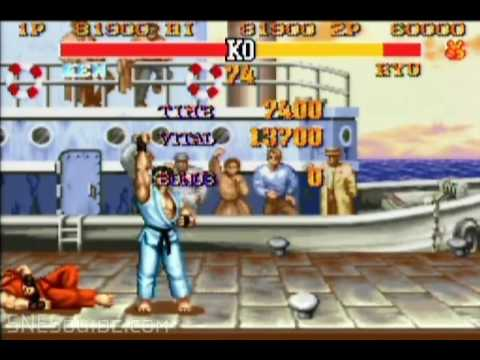 Street Fighter II Turbo - SNES Gameplay
