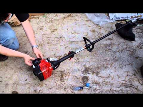 Review of Murray 25cc String Trimmer from Walmart--Assembly and First Start