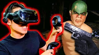 New VR Shooter Is Actually A Horror Game!