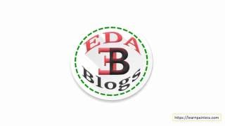 Intro video of EDA Blogs YouTube channel
