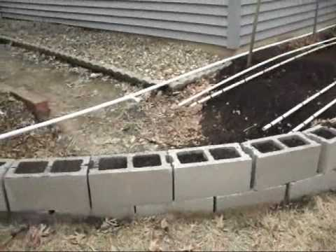 PVC Irrigation System, Automatic Water Timers, and Rain Barrel System