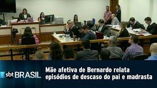 Mãe afetiva de Bernardo relata episódios de descaso do pai e madrasta | SBT Brasil (12/03/19)