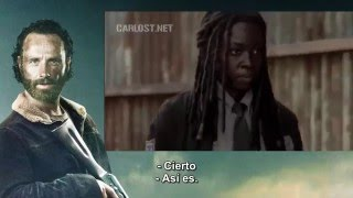 The Walking Dead Temporada 5 Escena Borrada de Rick y Michonne