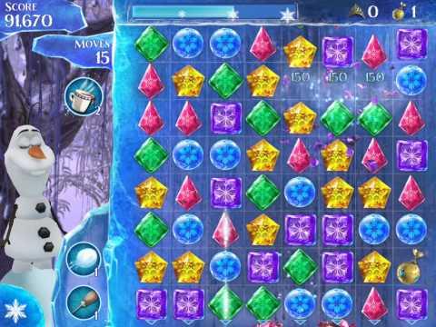 Frozen Free Fall Level 112 Live Action Play Walkthrough