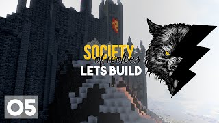 Minecraft Lets Build :: Epic Evil Castle! :: Society of Wolves Part 5