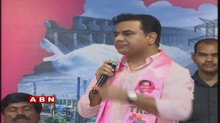 KTR Attends TRS Party Activities Meeting Live | Telangana Bhavan | ABN LIVE