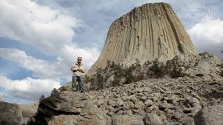 Devils Tower National Monument in Wyoming with Road Trip Story