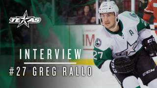 Greg Rallo Summer Interview 2017 Part 1