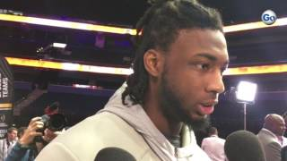 Download Clemson WR Mike Williams on Alabama's physical defense #GateHouseCFP 3Gp Mp4