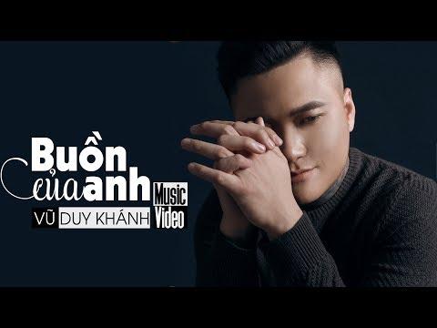 Buồn Của Anh Cover - Vũ Duy Khánh | K-ICM x Đạt G x Masew (Bản Đẹp) | buon cua anh