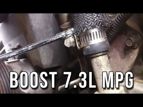 How to: Improve MPG on 7.3L Powerstroke - Cleaning EBPS