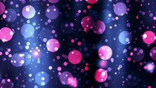 Circular Purple & Pink Particles Moving | 4K Relaxing Screensaver