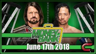WWE Money In The Bank Live Stream June 17th 2018: Live Reaction Conman167