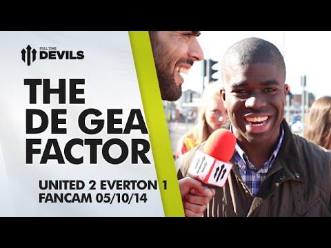 The de Gea Factor   Manchester United 2 Everton 1   FANCAM