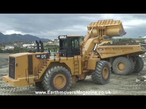 MASSIVE Cat 992K wheel loader test