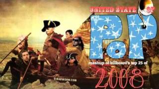 DJ Earworm - United State of Pop 2008 (Viva La Pop) - Mashup of Top 25 Billboard Hits