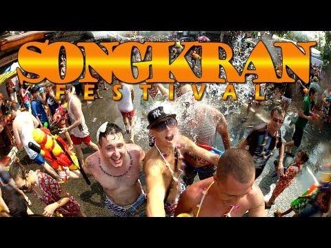 The Best Songkran Video - Chiang Mai, THAILAND (2013)
