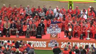 TigerNet.com - Clemson National Championship celebration - Part 2