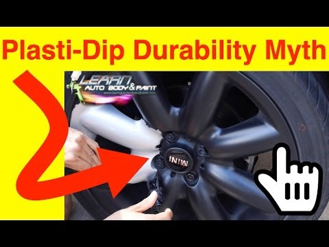 Plasti Dip Rims Durability Myth - Peel Off Plasti Dip - Lug Nut Test - 1 Year Later