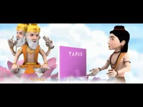 TAPAS 3D Ad film - God Brahma the creator Lord - Multimedia 3D Animation 3d Architecture