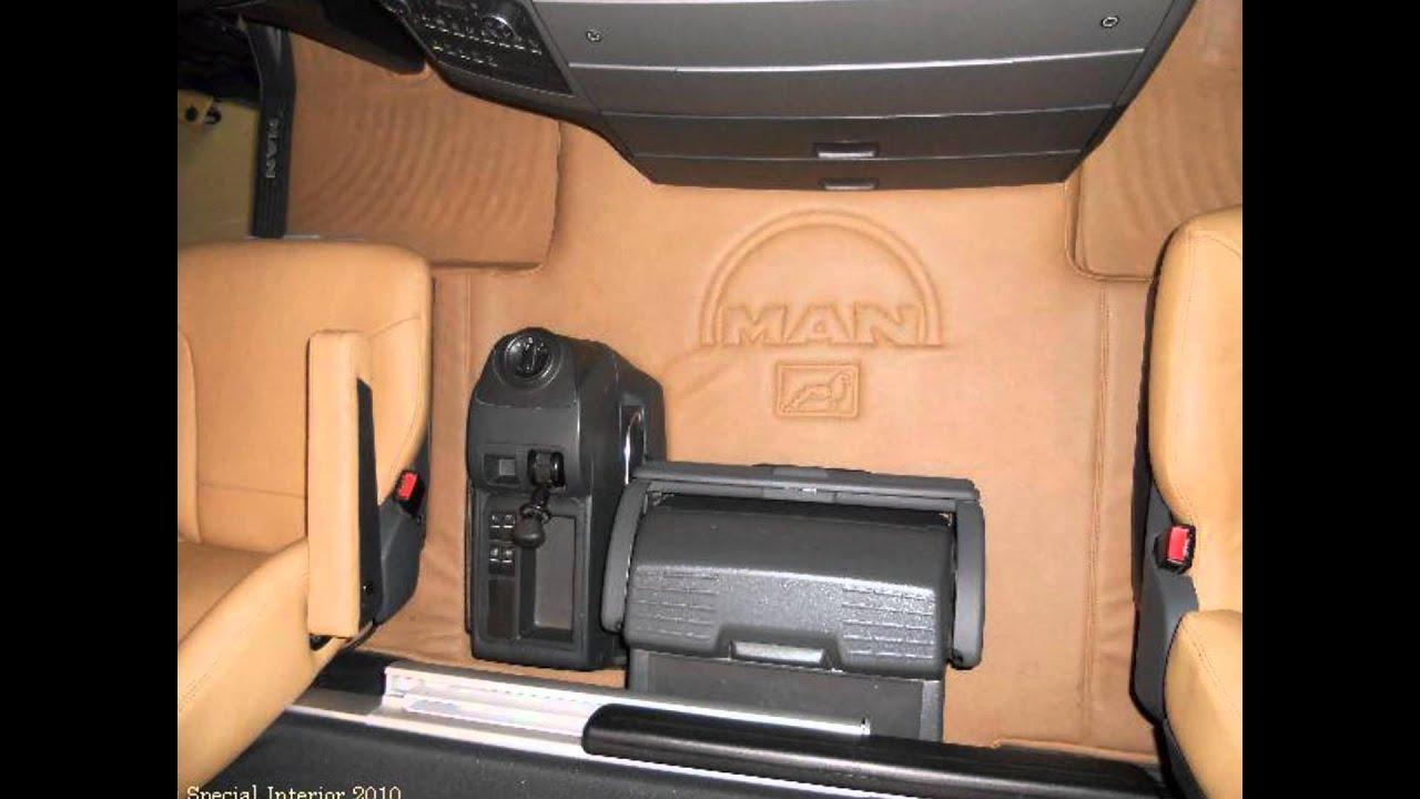 MAN TGX 440 Bas Smits interior (HD) - YouTube